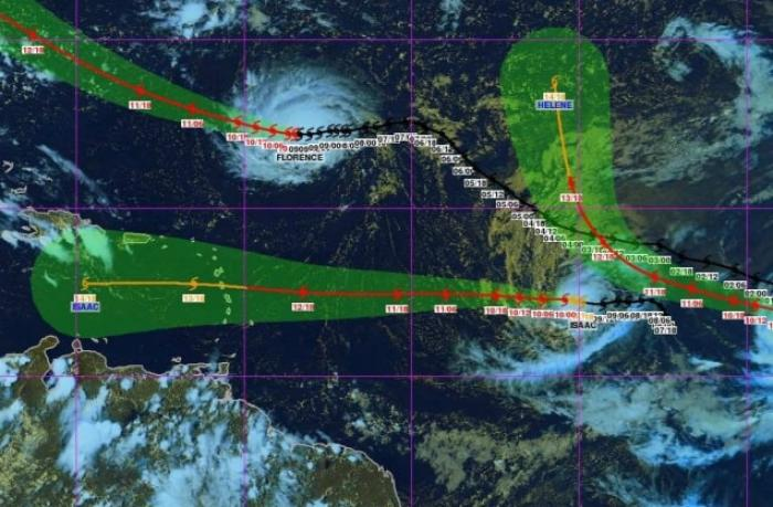 ISAAC devient un ouragan