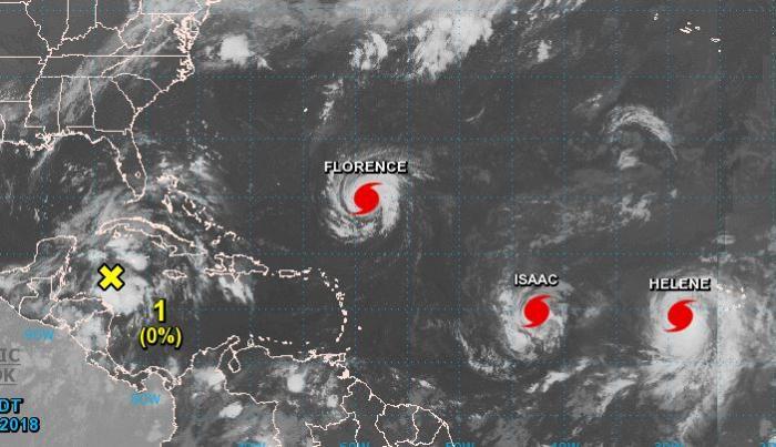 Isaac fait route vers les Antilles, la Martinique en vigilance jaune cyclone