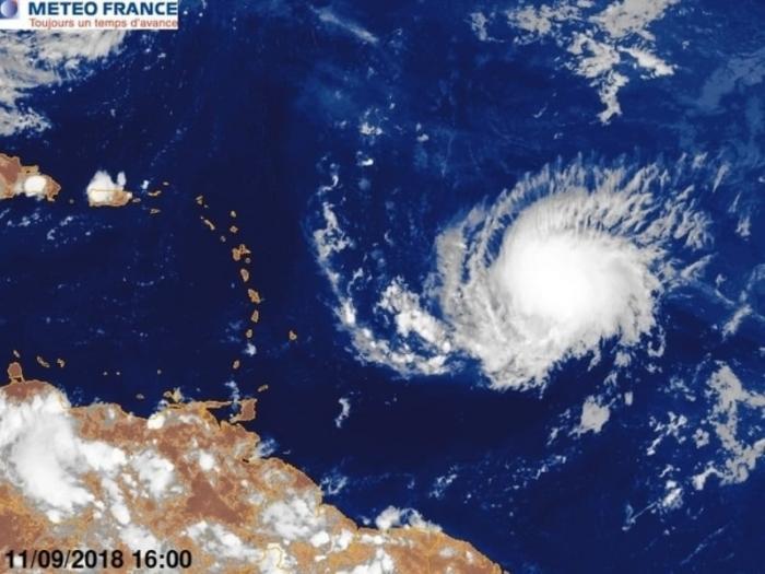 ISAAC : la vigilance orange cyclone est déclenchée