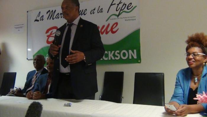 """Jesse Jackson aux TPE de Martinique : """"don't dream small !"""""""