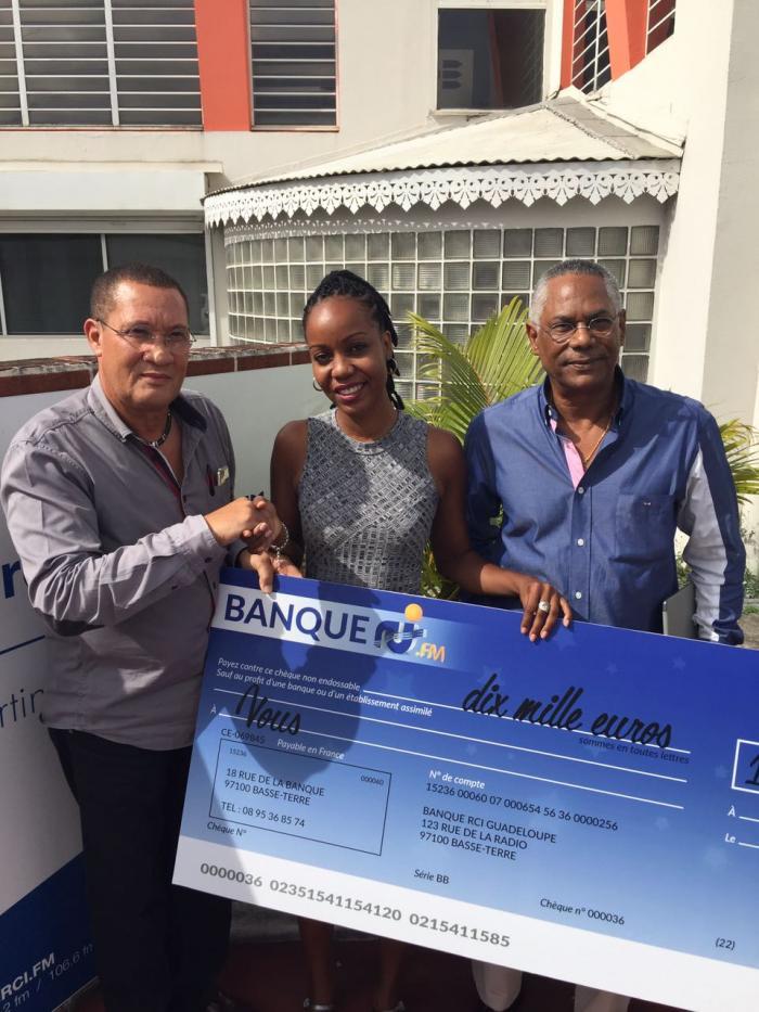 Jeu  RCI/NRJ/Bel Radio« Comment ça cash ? » : un chèque 10.000€ pour Johanna AGLAS
