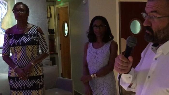 Josiane Ludon s'en va... Line Durpès lui succède à la tête d'Orange Caraïbe en Martinique