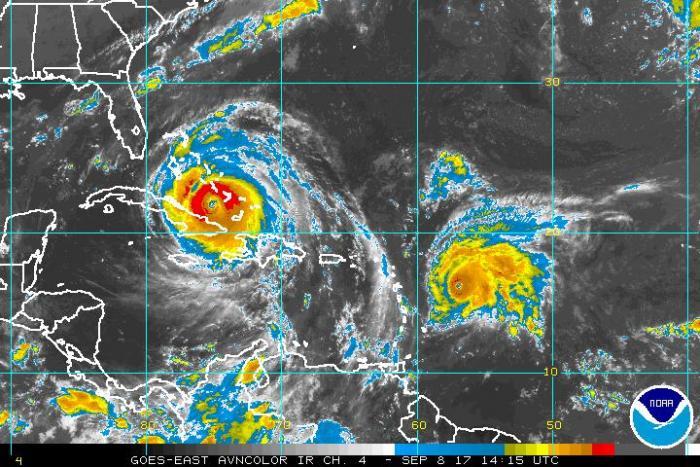 José passe en catégorie 4, un ouragan extrêmement dangereux selon le NHC