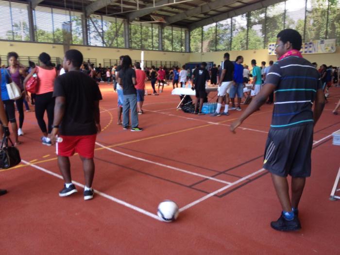 Journée sportive au Campus de Schoelcher