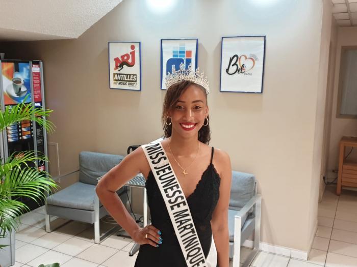 Kaithleen Lagier Miss Jeunesse Martinique s'envolera très prochainement pour Miss Jeunesse France