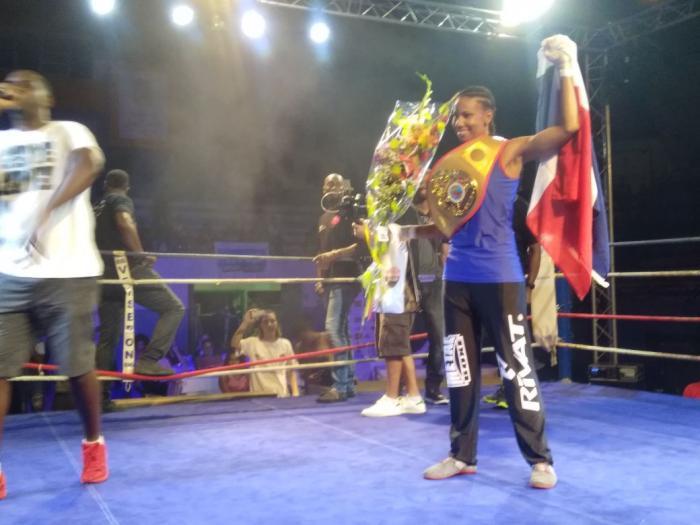 Kanelle Léger est toujours championne du monde de boxe française