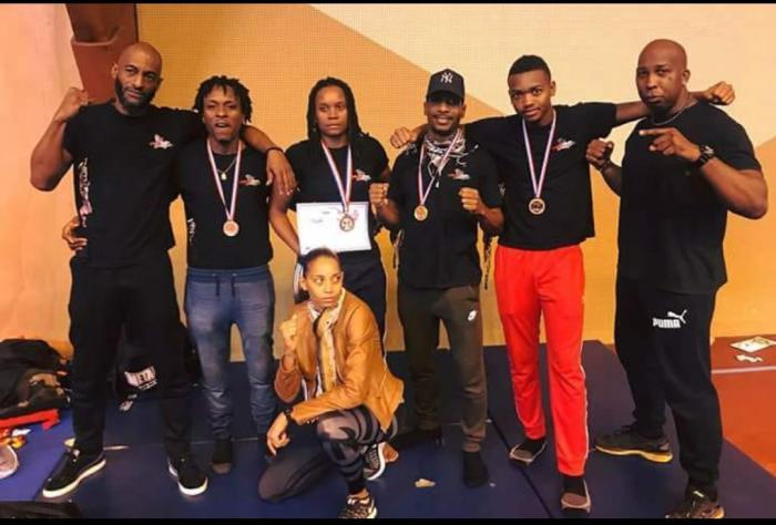 Kick Boxing : la délégation martiniquaise revient couverte de médailles