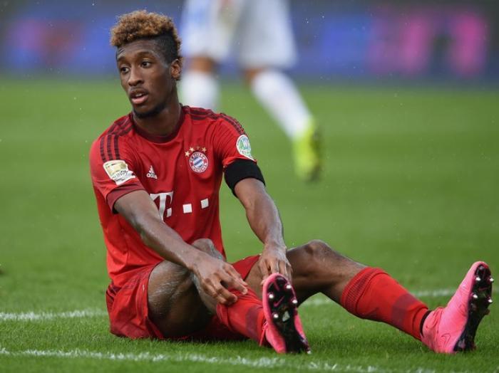 Kingsley Coman touché aux ligaments
