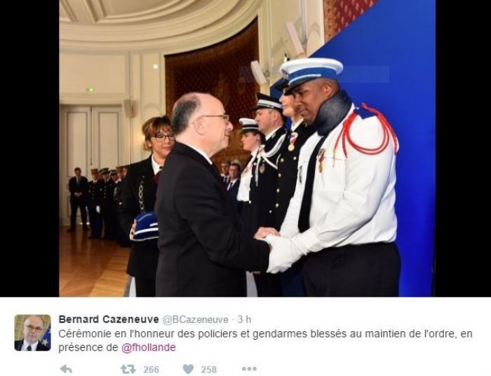 Kévin Philippy, « policier héros » décoré à Paris