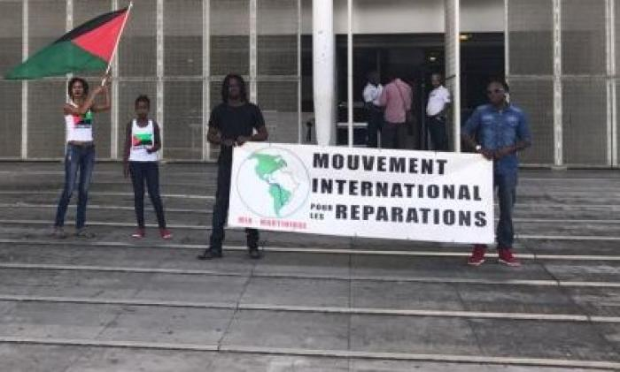 Konvwa Ti Moun aux Trois Îlets: convoi pour la réparation