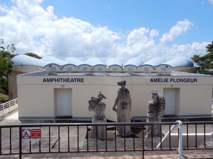 """L'amphithéâtre du lycée de Bellevue baptisé """"Amphithéâtre Amélie Plongeur"""""""
