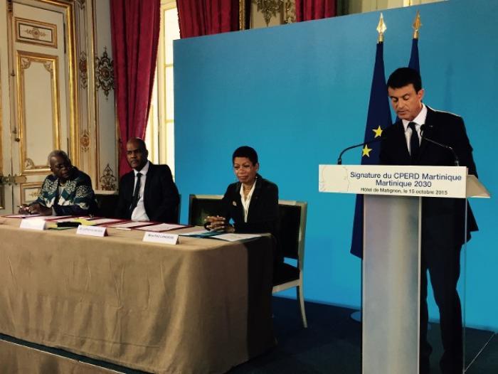 L'Etat s'engage pour 223M€ en Martinique