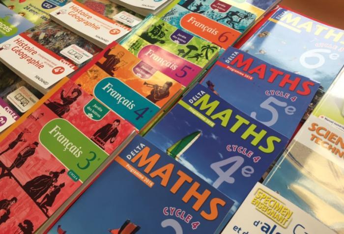 L'état ne veut plus financer les manuels scolaires au collège