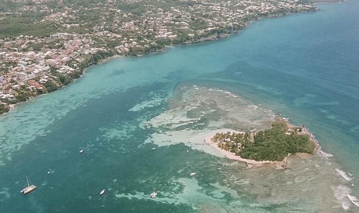 L'accès à la crique de Bas du Fort est ouvert