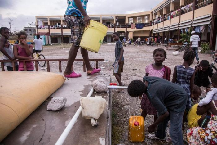 L'aide internationale arrive en Haïti