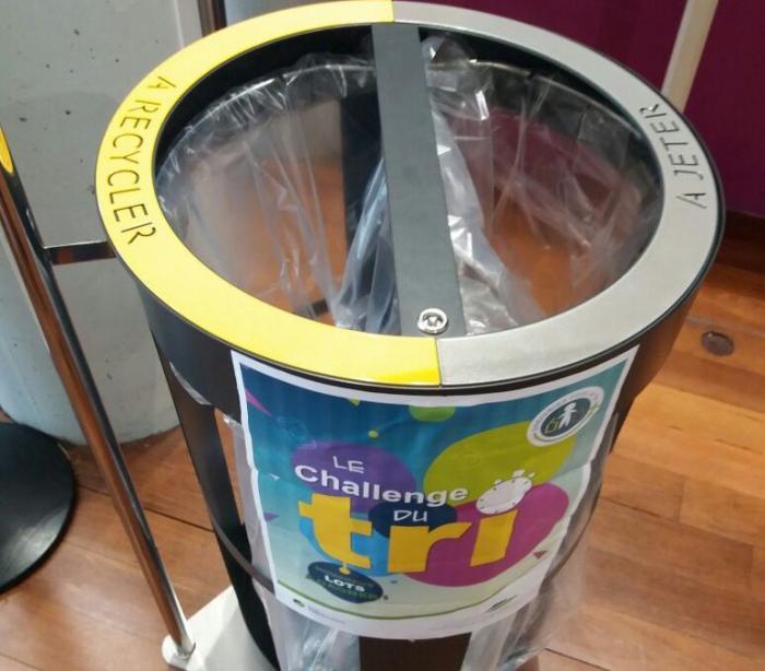 L'aéroport se lance dans le recyclage