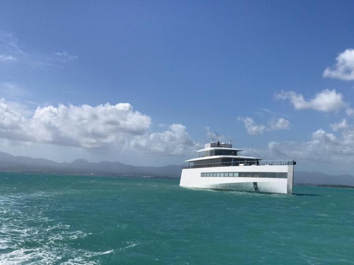 L'ancien yacht de Steve Jobs dans nos eaux