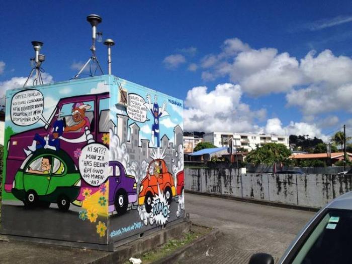 L'Art urbain pour sensibiliser la population à l'importance de la bonne qualité de l'air