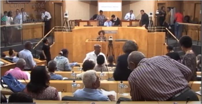 L'Assemblée de Martinique (CTM) en plénière ce mardi 04 octobre 2016 - A SUIVRE EN STREAMING VIDEO -