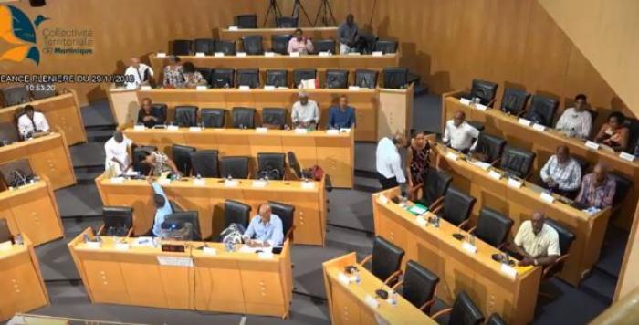 L'Assemblée de Martinique reprend sa plénière du mois de mai