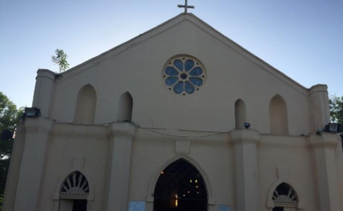 L'Eglise Immaculée Conception des Abymes vandalisée