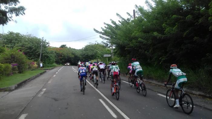 L'Estrade dans le final de la troisième étape du tour
