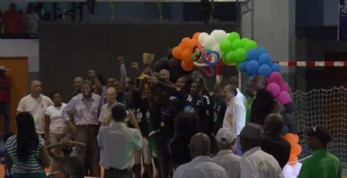 L'Etoile de Gondeau champion de Martinique de Handball chez les hommes