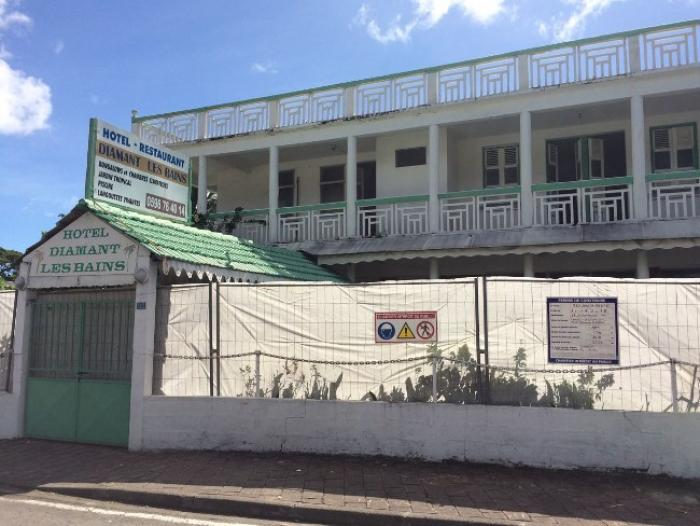 L'hôtel Diamant Les Bains disparaît pour mieux renaître