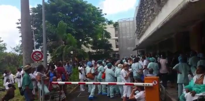 L'homme intoxiqué lors de l'incendie au CHU témoigne sur RCI (AUDIO)