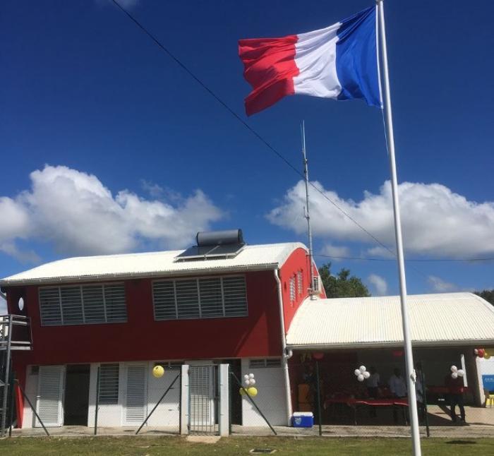 L'inauguration du centre de secours de Sainte-Anne en image
