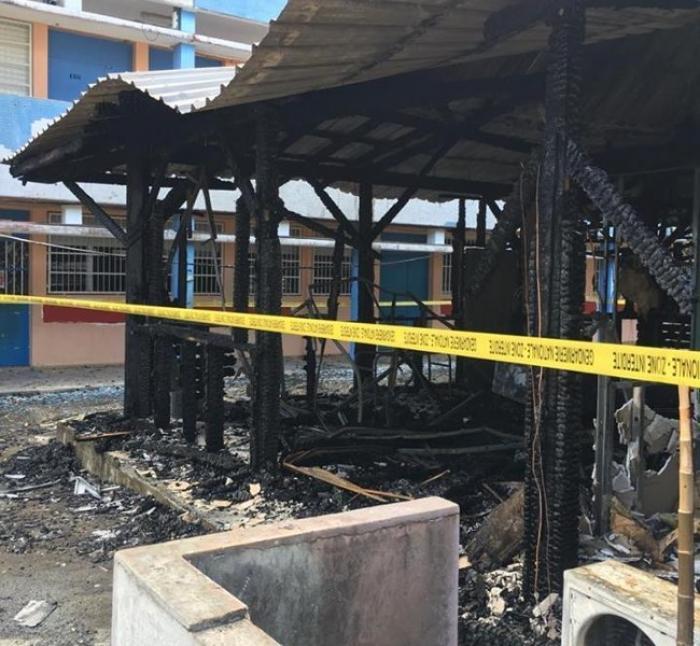L'incendie du collège Appel du 18 juin, un acte criminel ?