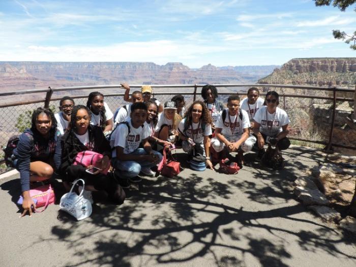 L'inoubliable visite du Grand Canyon de treize collégiens martiniquais en immersion linguistique à Tucson