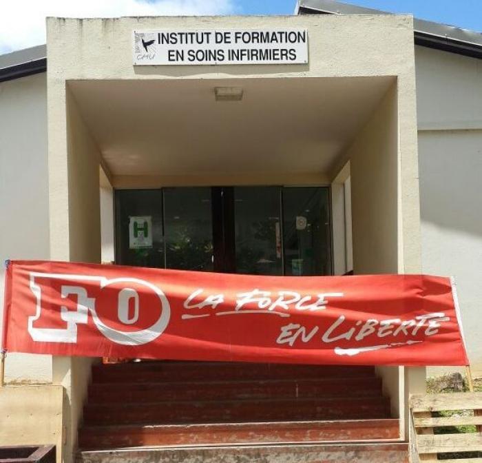 L'école des infirmières paralysée par un mouvement de grève