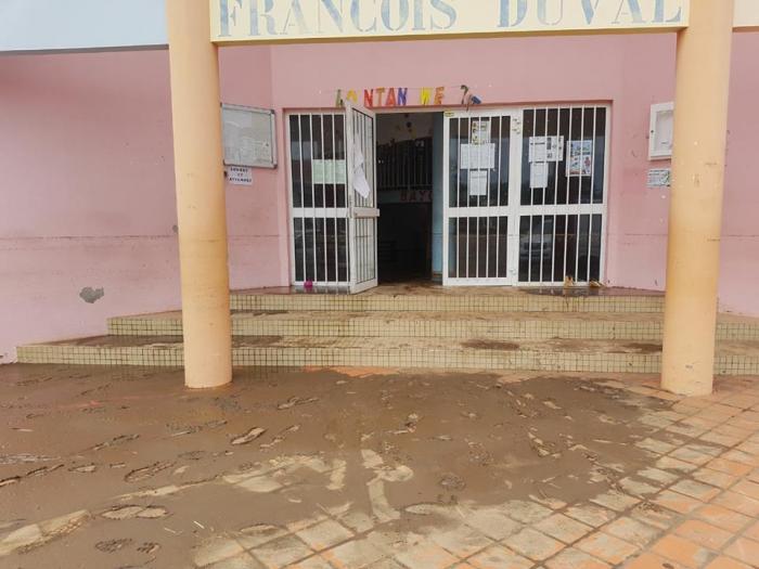 L'école maternelle Duval au François fermée jusqu'à lundi