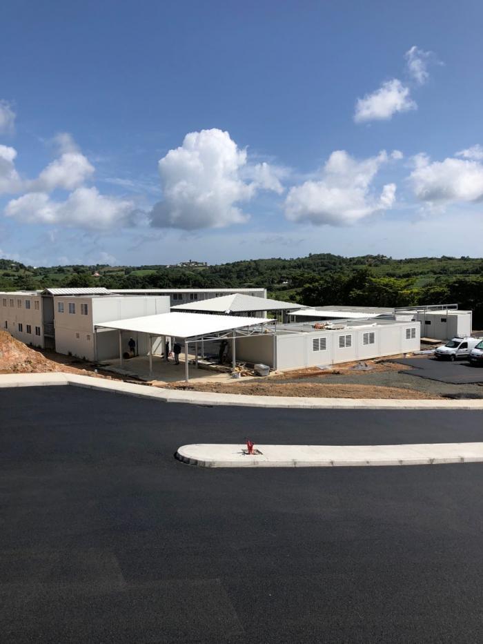 L'école provisoire de La Laugier ouvrira plus tard.