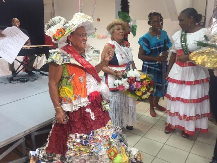 L'élection de la reine du carnaval des EPHAD du sud