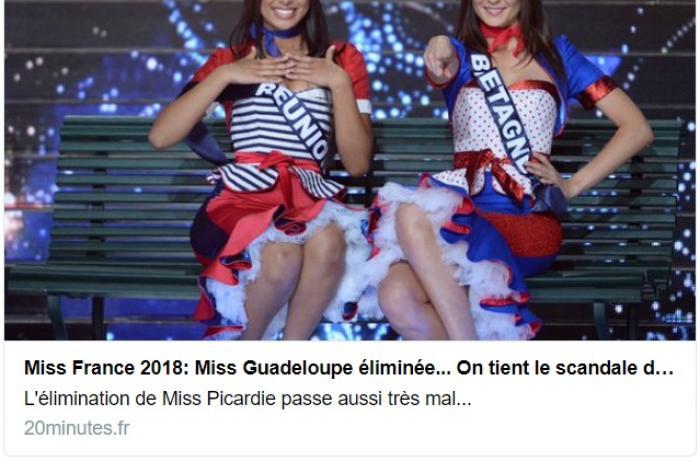 L'élimination de Miss Guadeloupe passe décidément mal, très mal !
