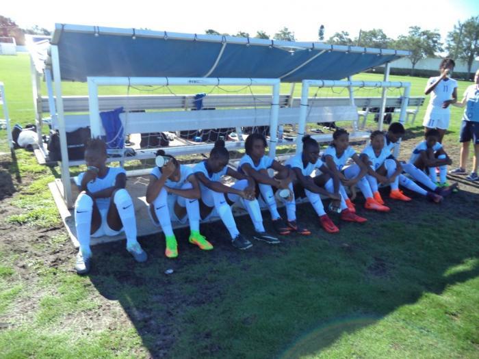 L'équipe féminine des moins de 15 ans remporte ses 3 matchs de poule