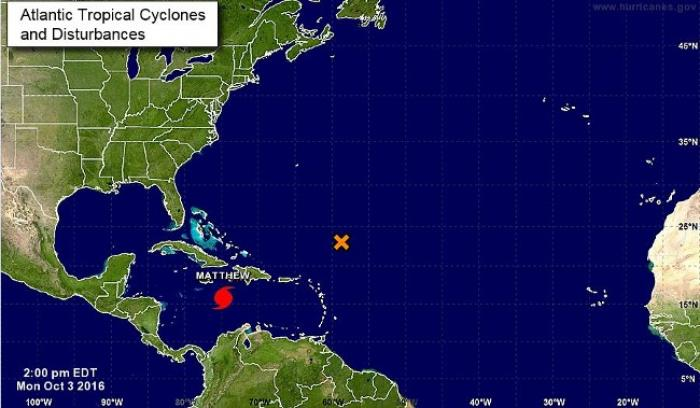 L'ouragan Matthew en route vers Haïti et la Caraïbe
