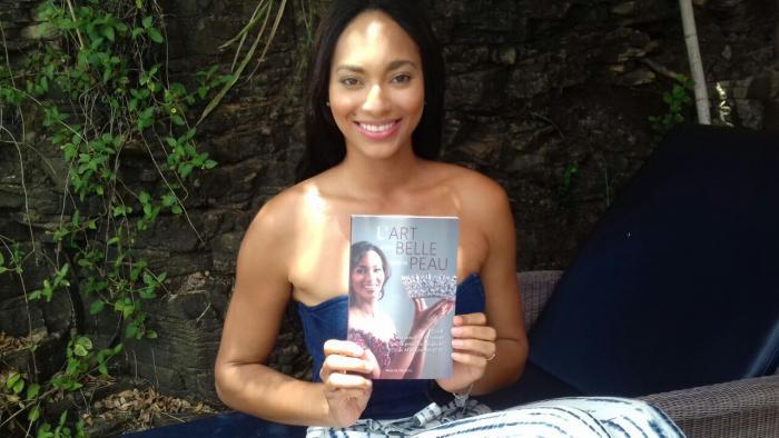 La 1ère dauphine de Miss Univers Raquel Pelissier en Martinique