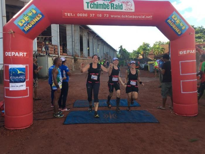 """La 3ème édition du trail """"Douvan Jou""""  une course caritative et solidaire"""