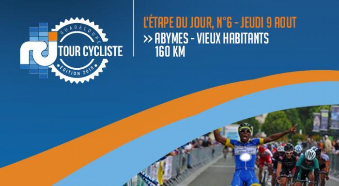 La 6ème étape du tour de la Guadeloupe en direct... Carène nouveau leader !
