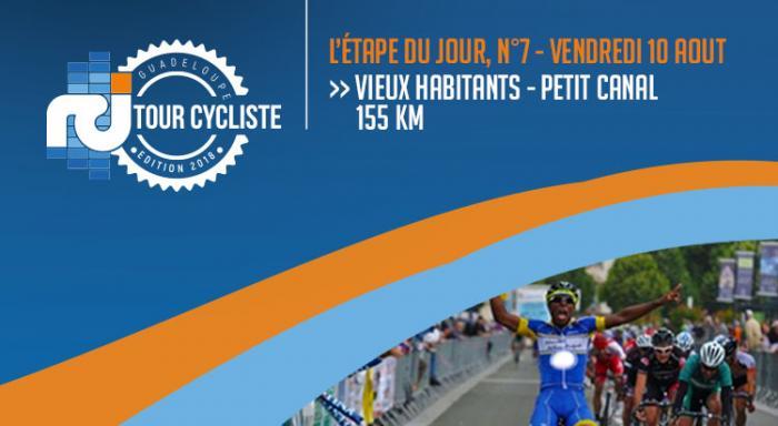 La 7ème étape du Tour de la Guadeloupe en direct !