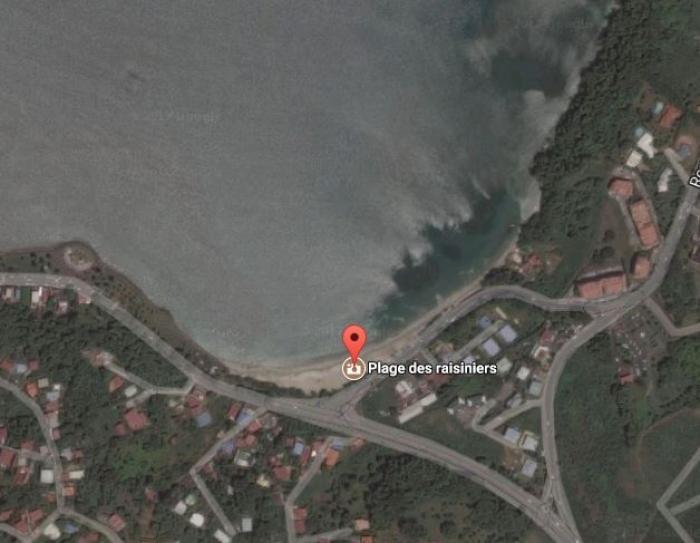 La baignade est interdite à la plage des Raisiniers