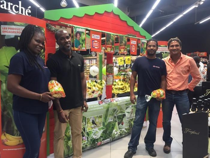 La banane de Guadeloupe fait son grand retour dans les grandes surfaces