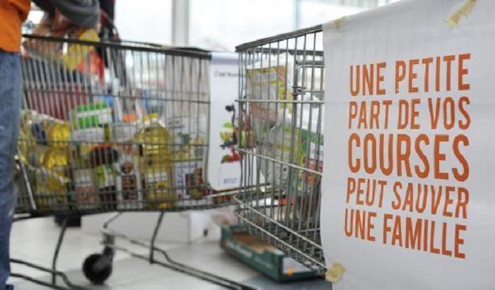 La banque alimentaire récolte 55 tonnes de denrées