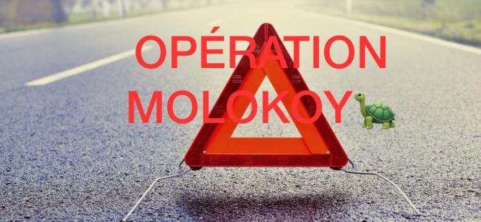 La CGTM-SOEM mène une opération escargot sur les routes