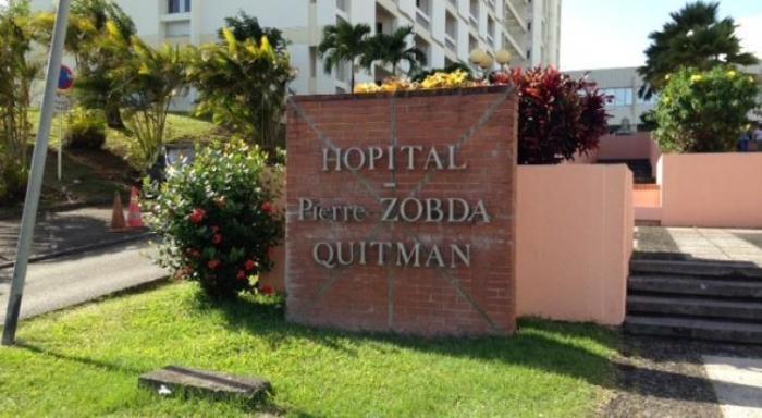 La colère des agents hospitaliers de Martinique