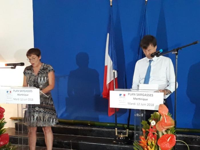 La conférence de presse de Nicolas Hulot et d'Annick Girardin en direct vidéo