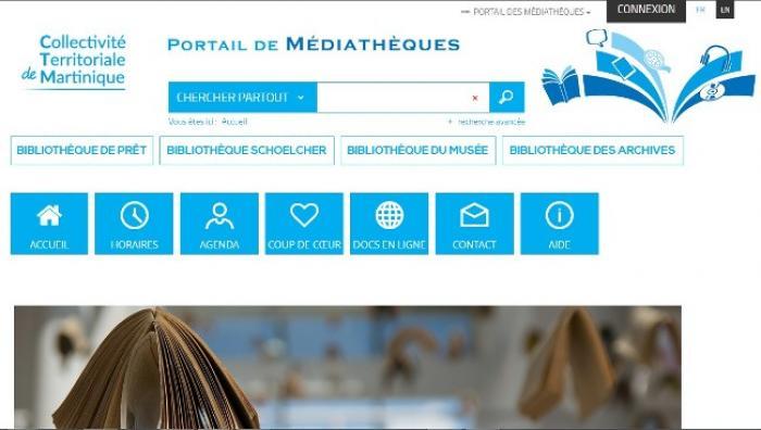 La CTM lance son portail des médiathèques